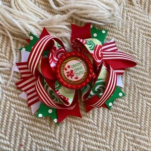 Other - Christmas Patterned Bow